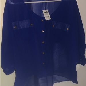 Blouse from Charlotte Russe size L tags attached